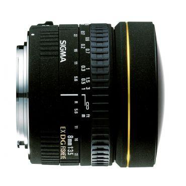 Sigma 8mm F3.5 EX DG CIRCULAR FISHEYE в Минске
