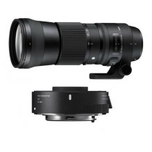 SIGMA 150-600mm F5-6.3 DG OS HSM Contemporary + Tele Converter TC-1401