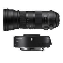 SIGMA 150-600mm F5-6.3 DG OS HSM Sports + Tele Converter TC-1401