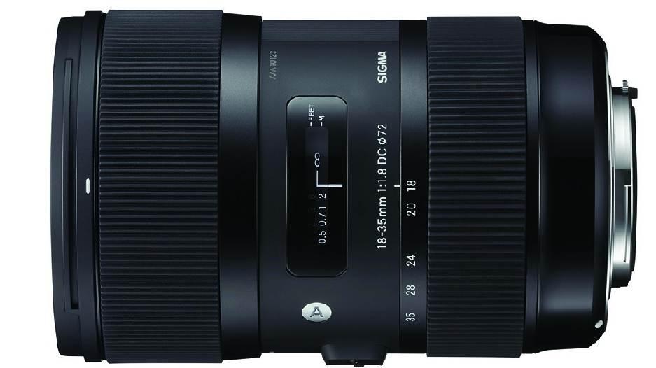 Sigma 18-35mm F1.8 DC HSM Art фото