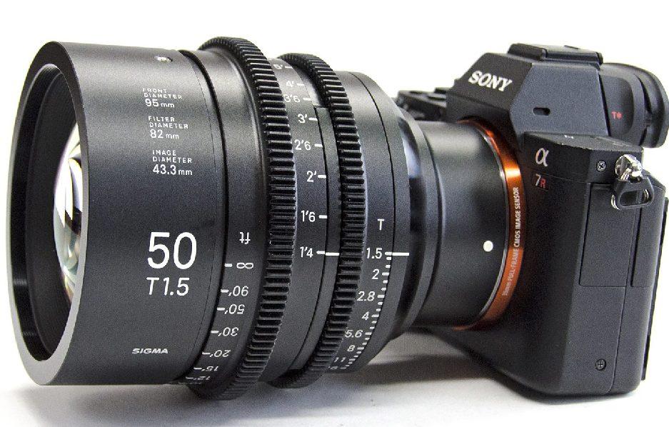 Объектив 50mm T1.5
