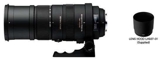 Фото Sigma APO 150-500mm F5-6.3 DG OS HSM