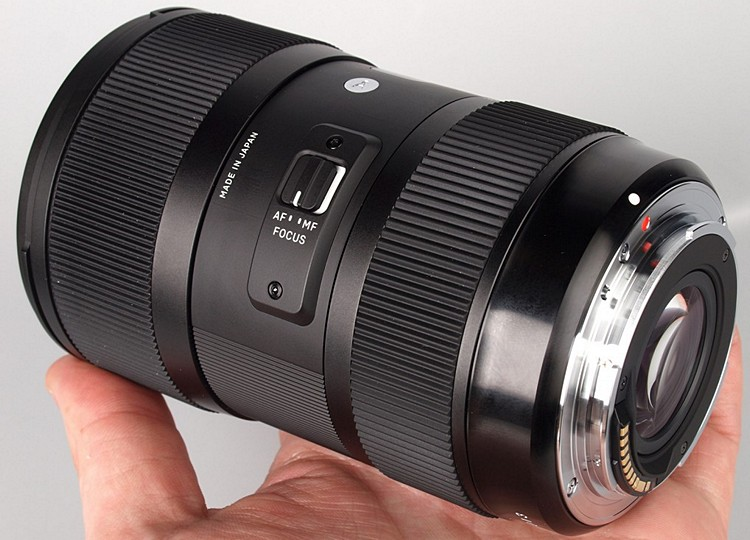 SIGMA 18-35mm f/1.8 DC HSM тестовое видео