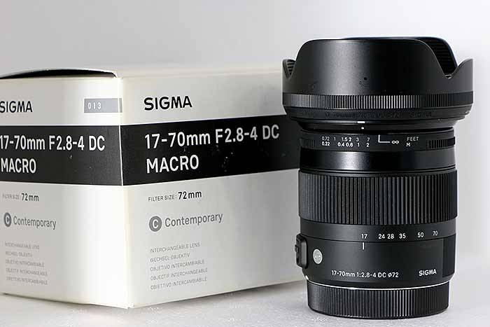Фотография Sigma 17-70mm F2.8-4 DC MACRO OS HSM Contemporary в Минске