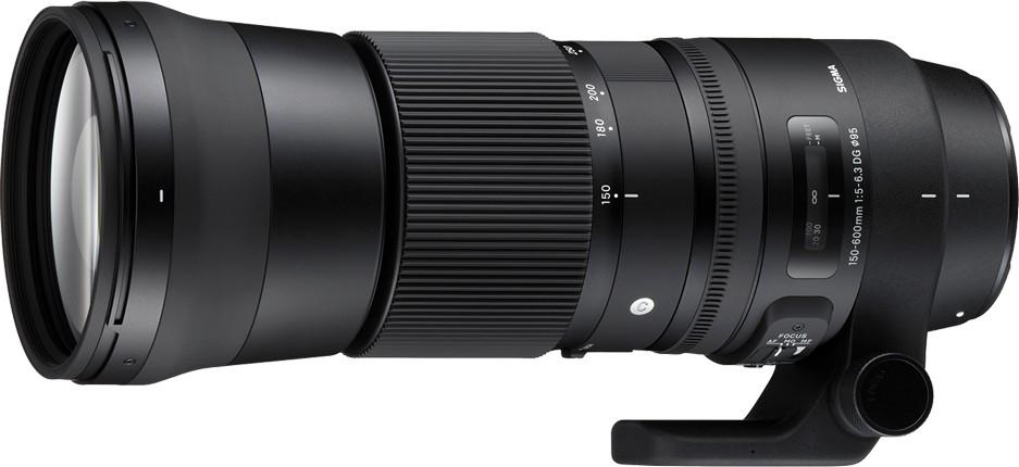 SIGMA 150-600mm F5-6.3 DG OS HSM Contemporary фотография