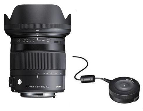 Sigma 17-70mm + Usb dock фото