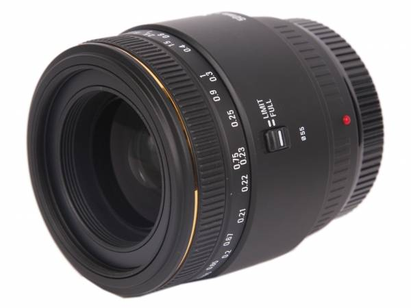 Sigma MACRO 50mm F2.8 EX DG
