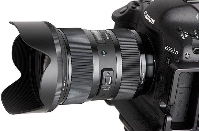 Отличный обзор объектива Sigma 24-35mm f/2 DG HSM Art