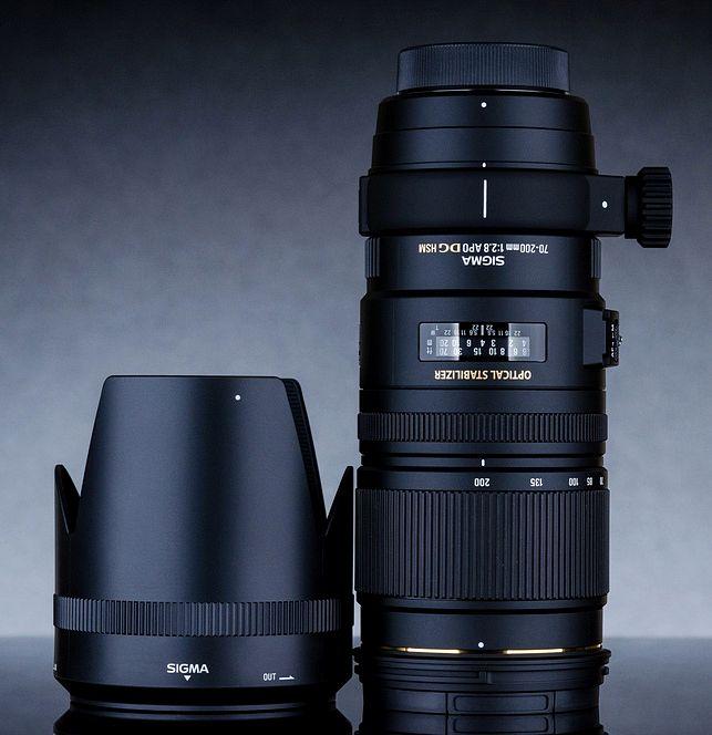 Sigma APO 70-200mm F2.8 EX DG OS HSM фото объектива