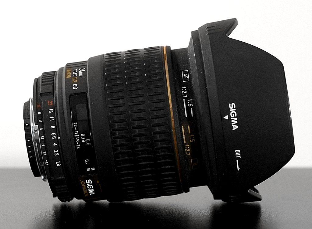 Видео обзор Sigma 24mm F1.8 EX DG MACRO