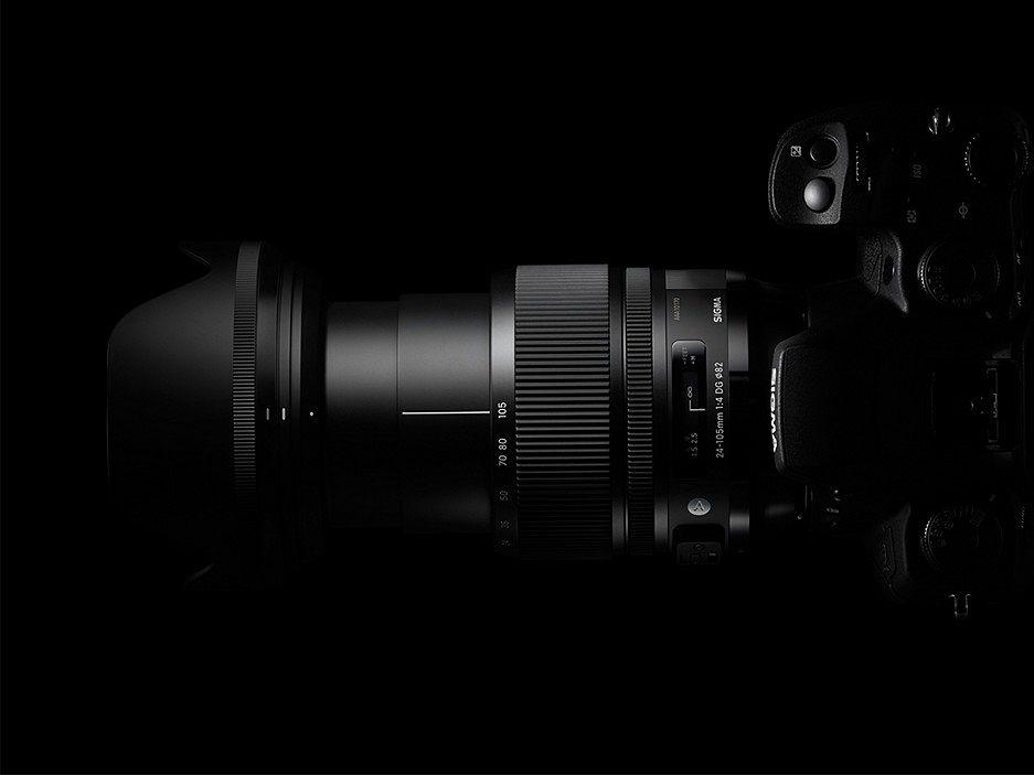 Sigma 24-105mm F4 DG OS HSM Art фото объектива