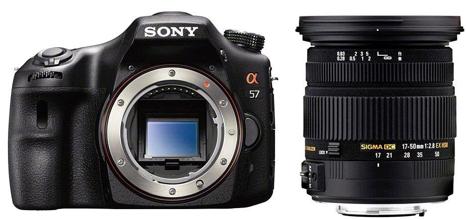 Sony Alpha 57 + Sigma 17-50mm F2.8 EX DC OS HSM фото