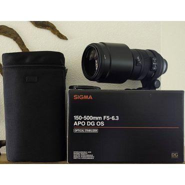 Sigma APO 150-500mm F5-6.3 DG OS HSM от оф дилера в Минске
