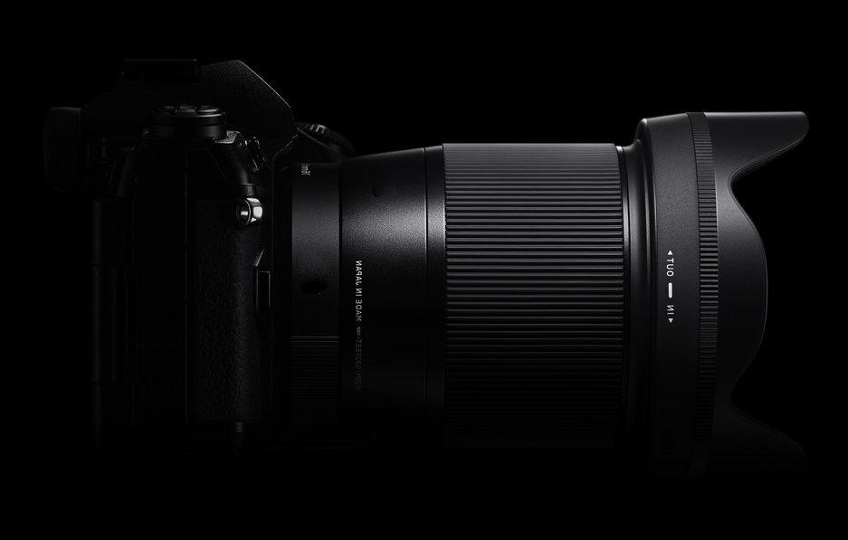 SIGMA 16mm F1.4 DC DN Contemporary видео тест
