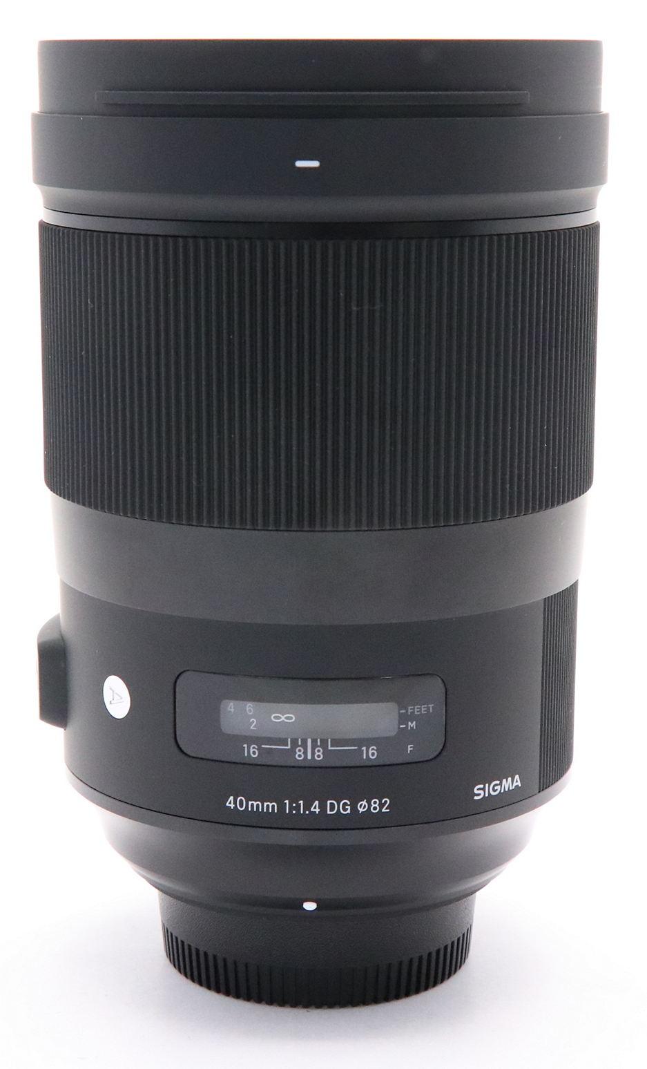 SIGMA 40mm F1.4 DG HSM Art фото внешнего вида