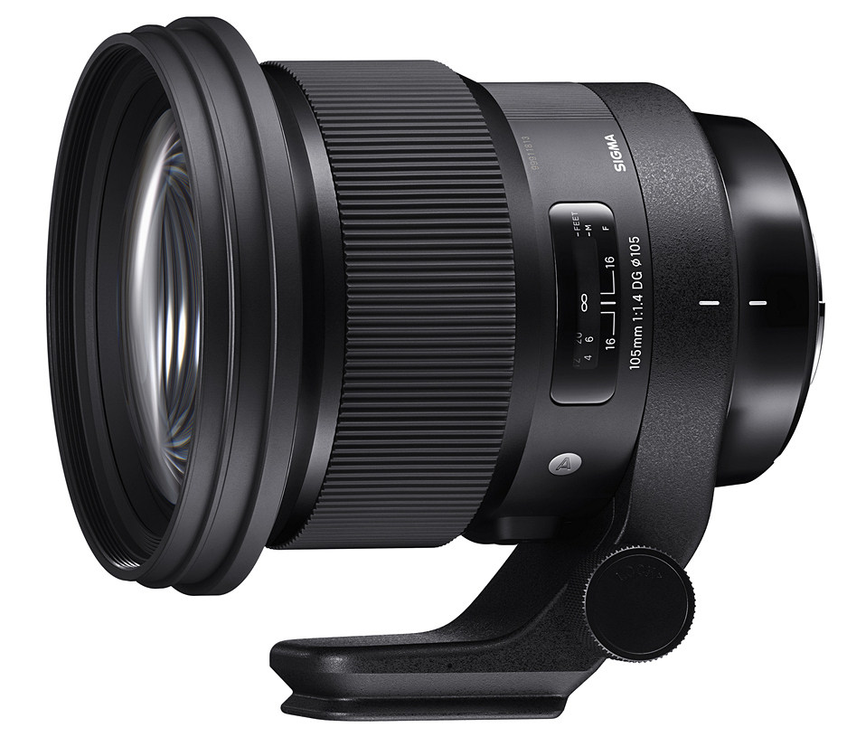 SIGMA 105mm F1.4 DG HSM Art видео тест
