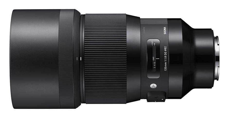 SIGMA 135 mm F1.8 DG HSM Art для Sony e