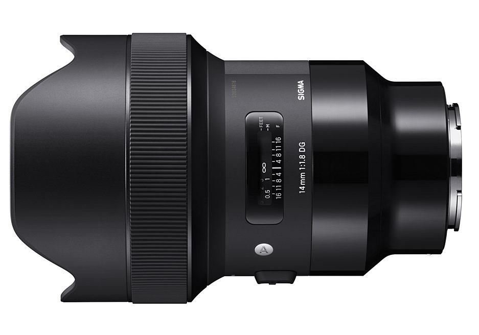 SIGMA 14 mm F1.8 DG HSM Art для sony e