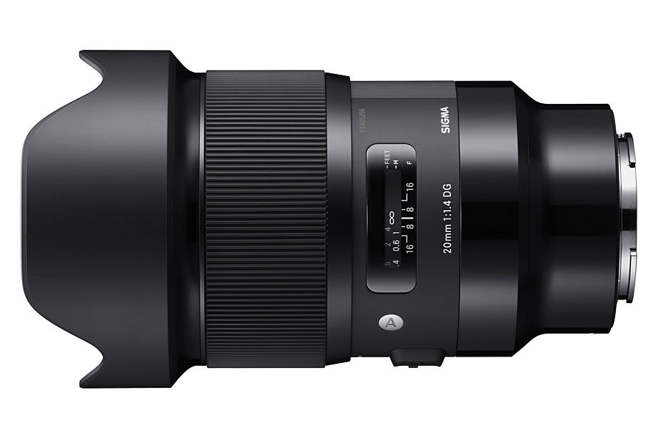 SIGMA 20 mm F1.4 DG HSM Art для Sony e