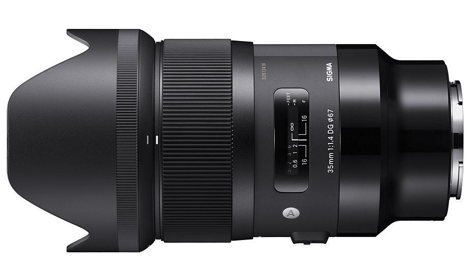 SIGMA 35 mm F1.4 DG HSM Art для Sony e