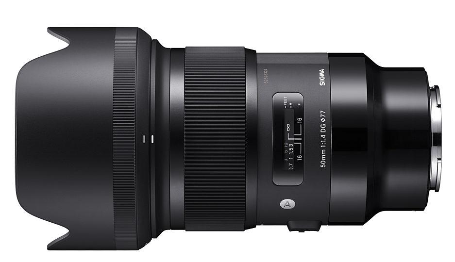 SIGMA 50 mm F1.4 DG HSM Art для Sony e