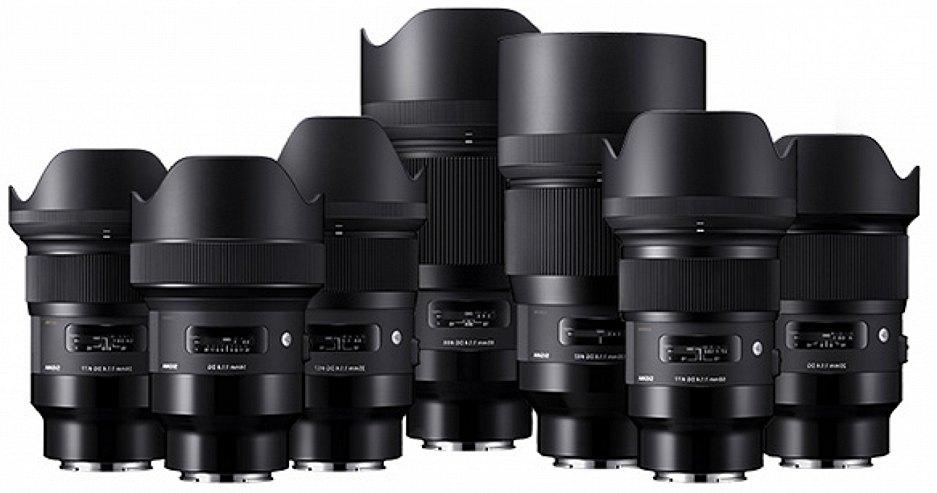 Видео обзор работы новых объективов SIGMA ART на Sony A7