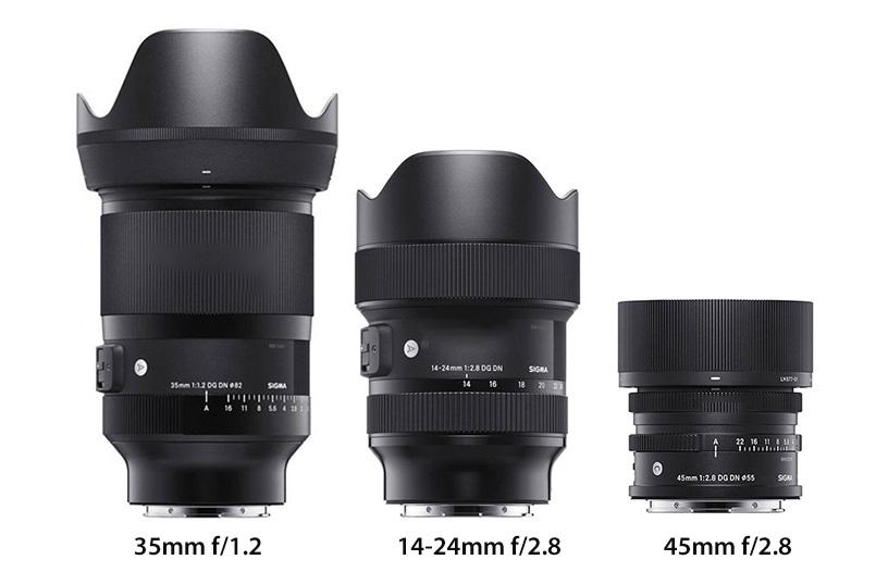 SIGMA представила объективы для беззеркальных камер Sony E, Panasonic и Leica