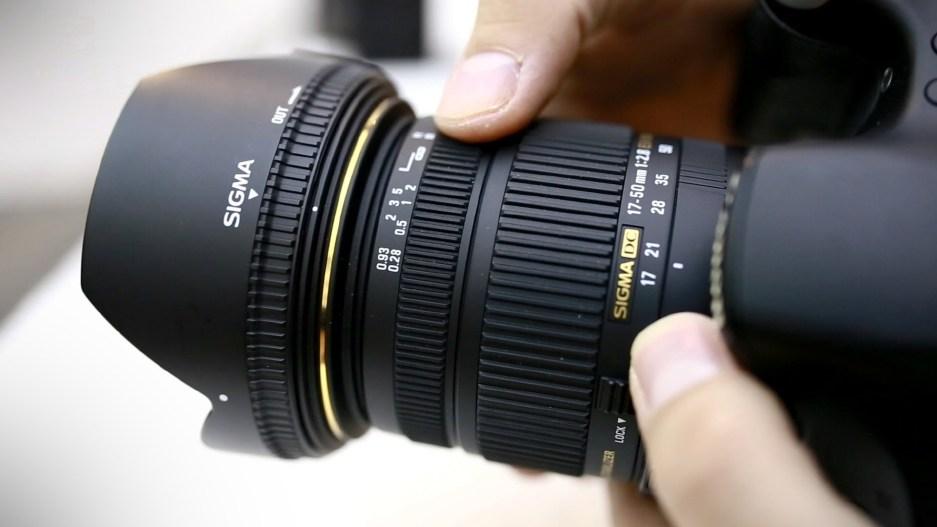 Sigma 17-50mm F2.8 EX DC OS HSM ночное видео