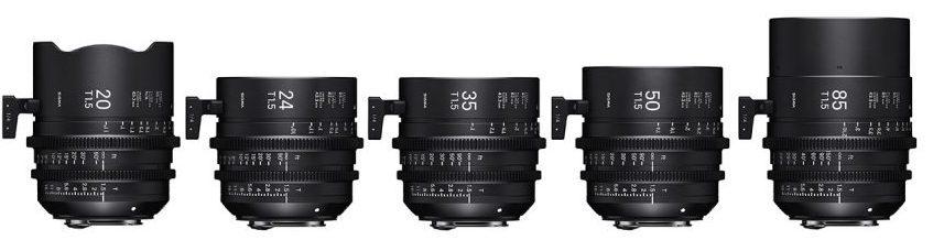 Фото Sigma Cine Lenses