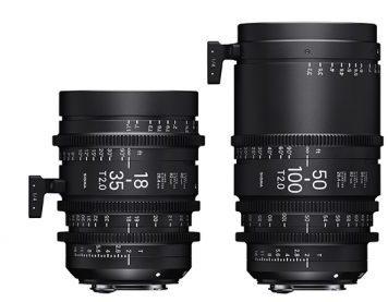 18-35mm и 50-100mm T2.2
