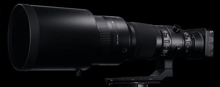 Sigma 500mm F4 DG OS HSM Sports фото