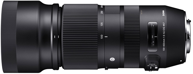 SIGMA 100-400mm F5-6.3 DG OS HSM Contemporary photo