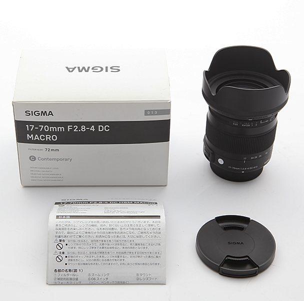 Комплект объектива Sigma 17-70mm F2.8-4 DC MACRO OS HSM C