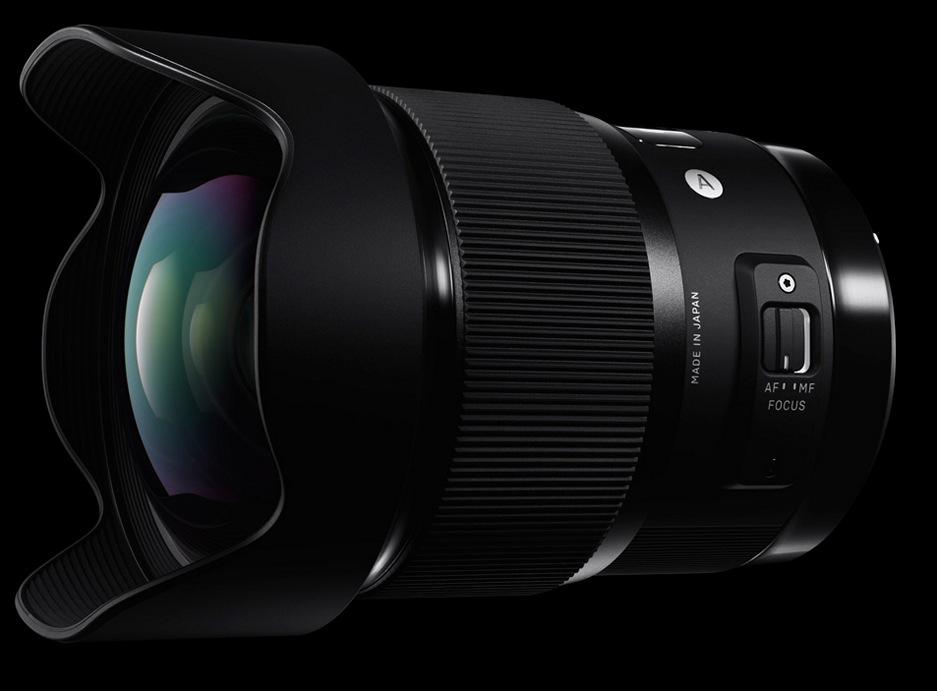 SIGMA 20mm F1.4 DG HSM Art лучший широкоугольный объектив