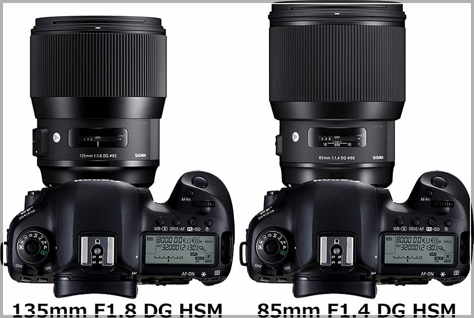 Sigma 85mm F1.4 DG HSM Art или SIGMA 135mm F1.8 DG HSM Art