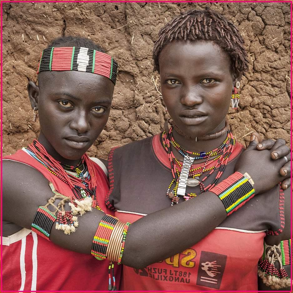 Фотография эфиопских племен