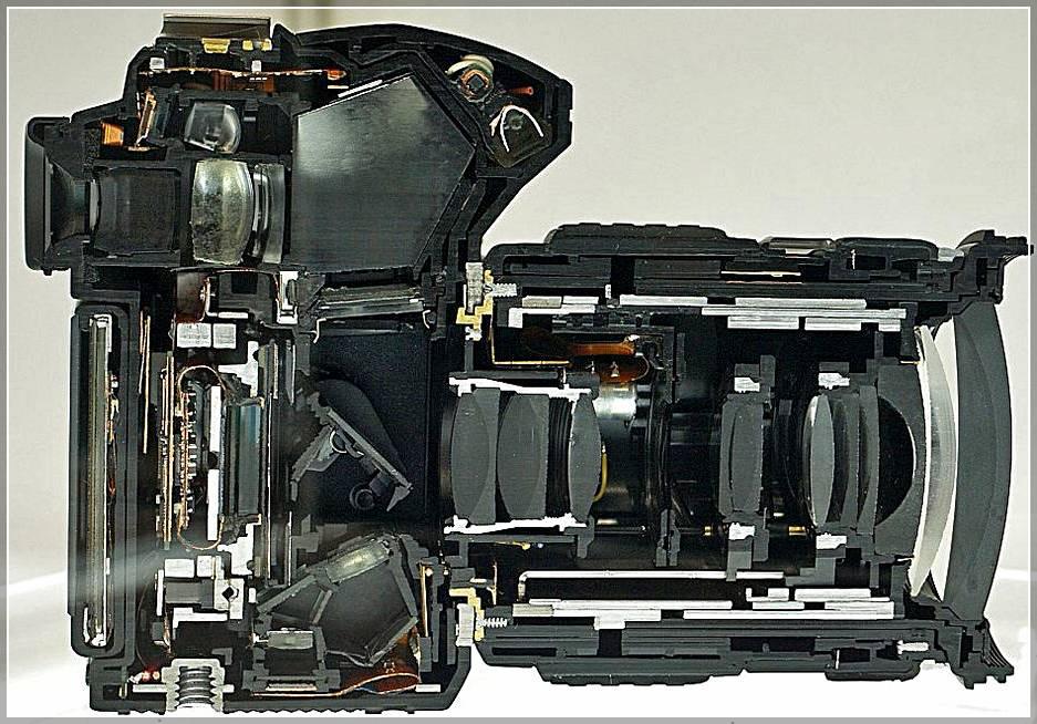 Фотоаппарат фотография внутри