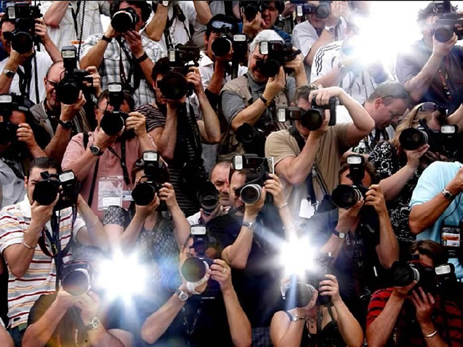 Внешняя вспышка фотографы