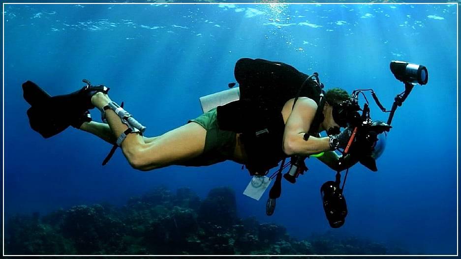 Подводная съемка фото