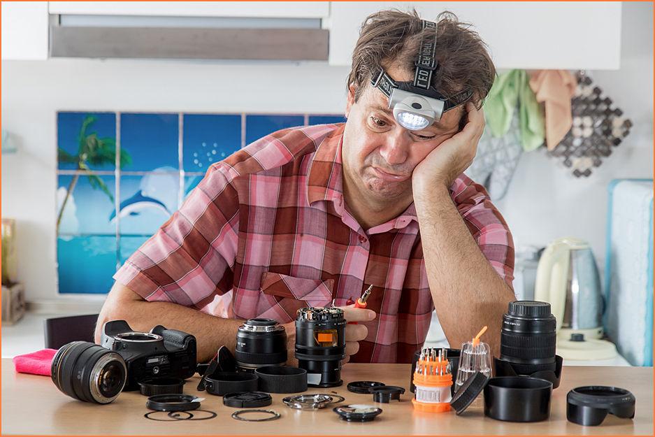 Частые поломки объектива, вспышки, фотоаппарата: какие бывают