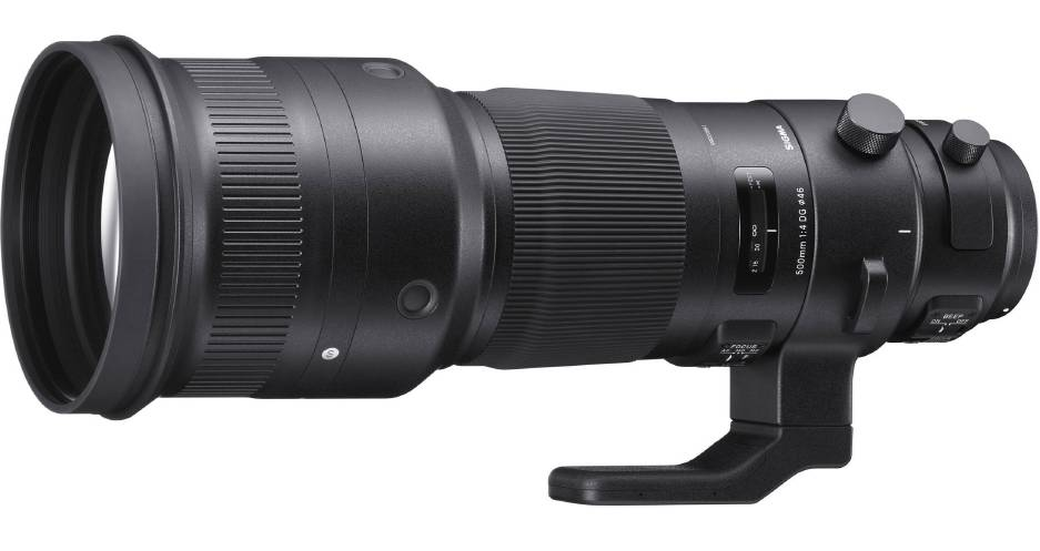 Sigma 500mm F4 DG OS HSM Sports фото объектива