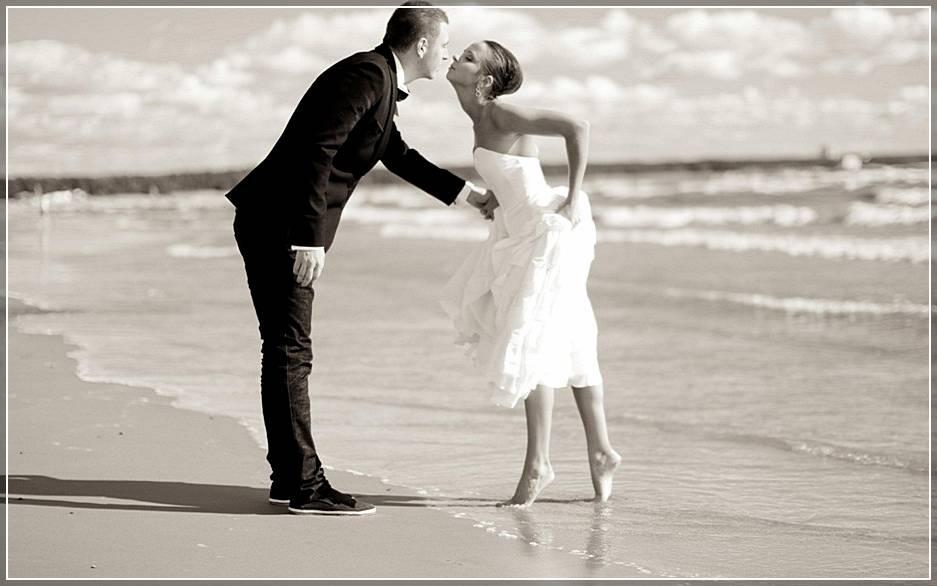 Первая свадебная фотосессия
