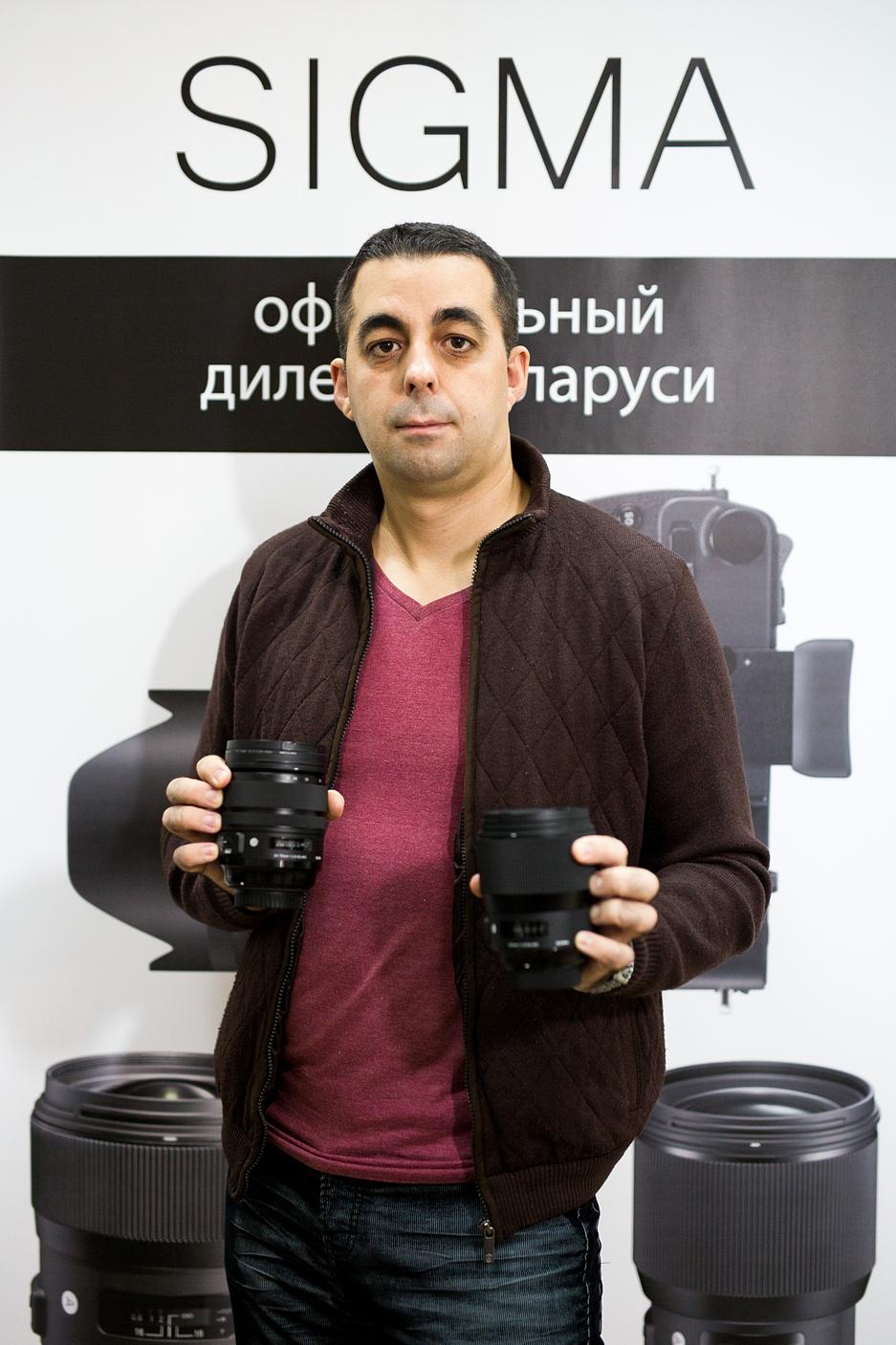 Основатель SIGMA в Минске Руслан Олехнович