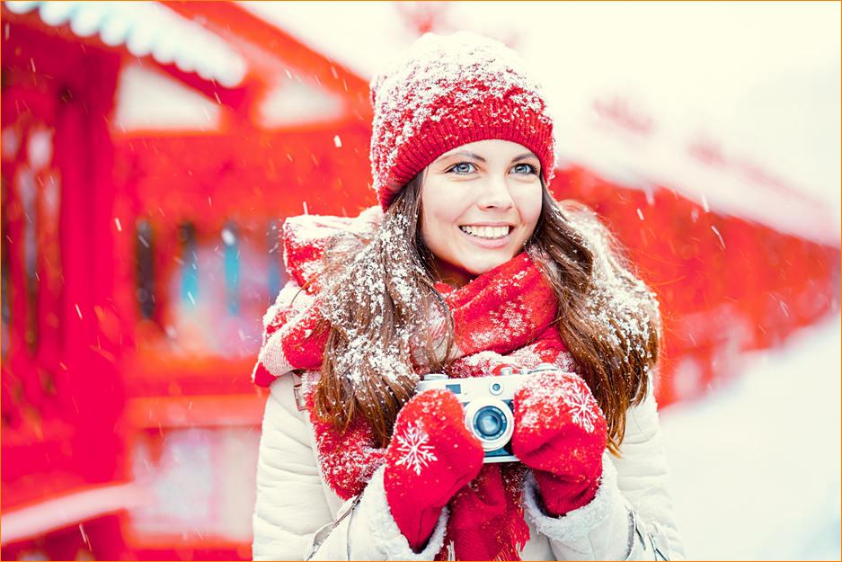 Лучшие друзья девушек -- фотоаппараты!