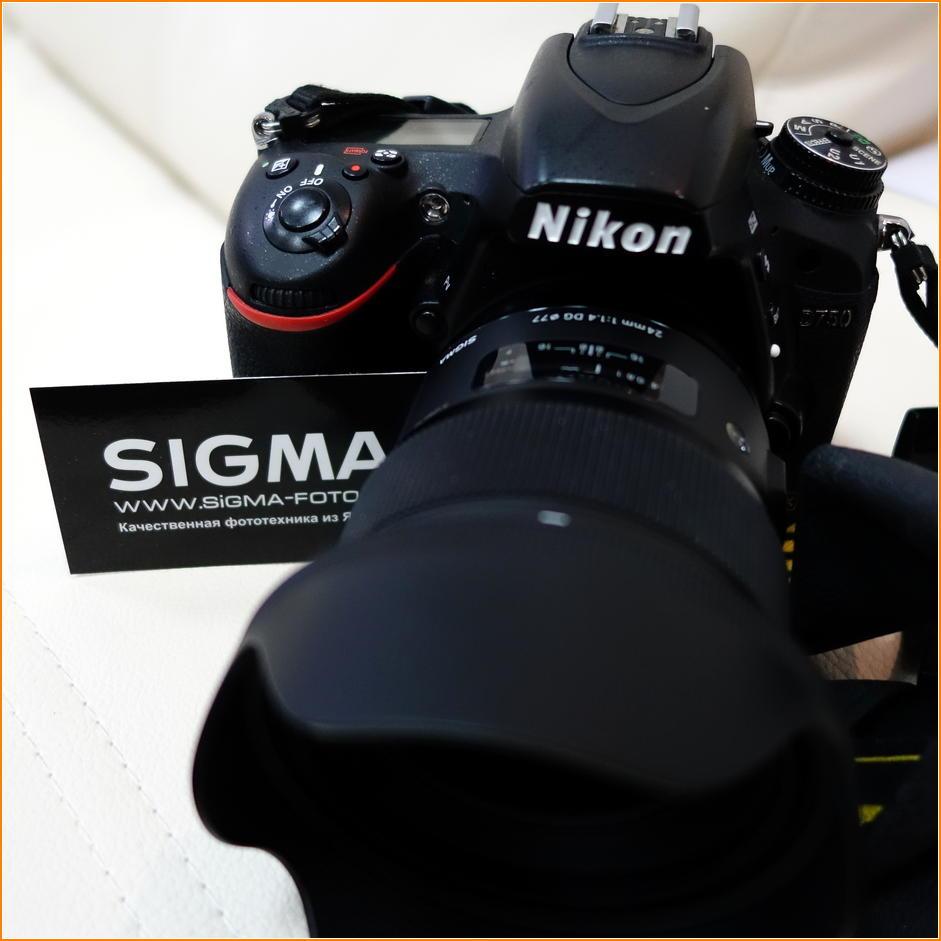 Объективы SIGMA для камеры Nikon
