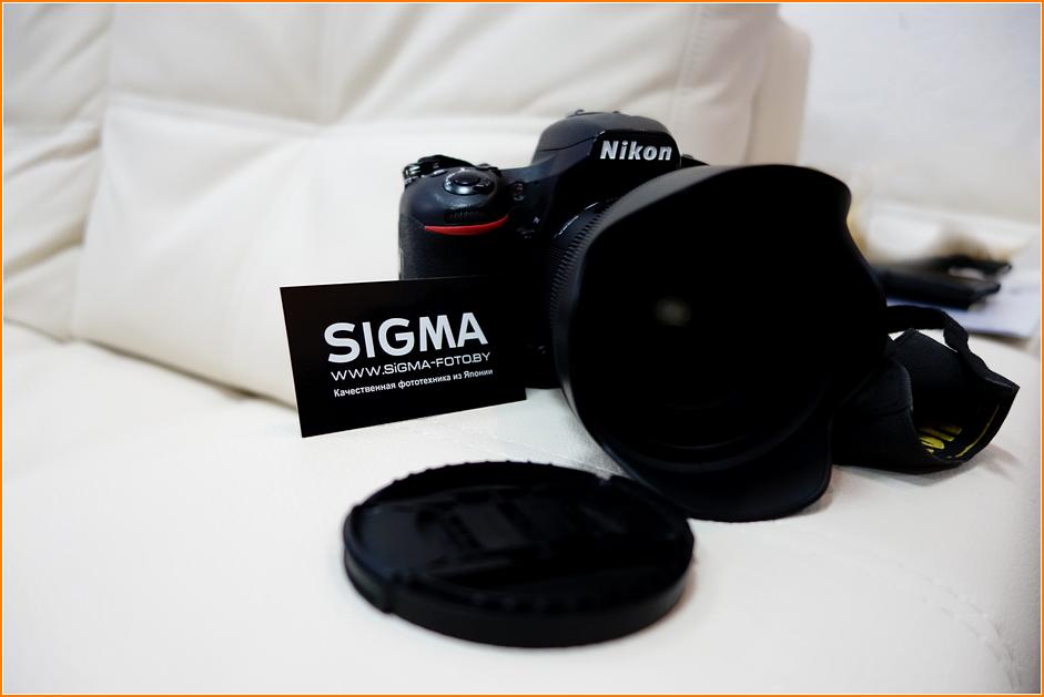 Объективы Sigma для фотоаппаратов Nikon