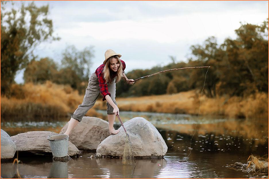 Фото рыбалки как сделать красиво