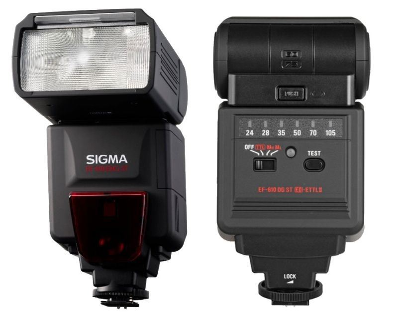 Фото вспышки Sigma ELECTRONIC FLASH EF-610 DG ST отзывы