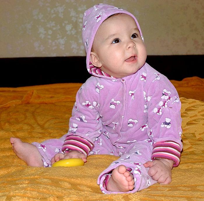 Фотография ребенка 1 год