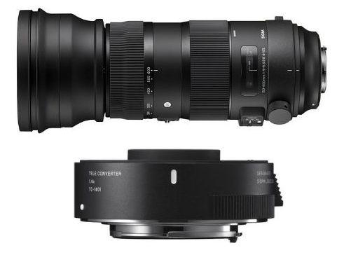 Sigma 150-600/5-6.3 DG OS HSM Sports + Tele Converter TC-1401 акция